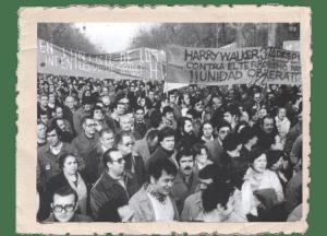 "Manifestació fàbrica ""Harry Walker"""