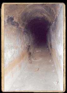 Interior aqüeducte de Ciutat Meridiana