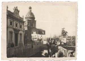 Rec Comtal al pas per Sant Andreu