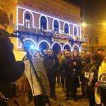 Nou Barris Cabrejada abandona l'audiència per celebrar una assemblea popular a la plaça Major