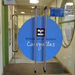 La biblioteca de Canyelles tanca per obres