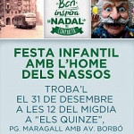 L'home dels Nassos arriba a Barcelona