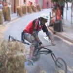Festa sobre rodes a Les Roquetes