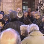 Manifestació contra el tancament d´urgències al CAP Guineueta
