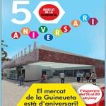El Mercat de la Guineueta celebra 50 anys al barri