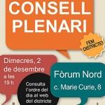 Plenari del Consell del Districte de Nou Barris