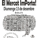 Edició nadalenca del Mercat ImPorta
