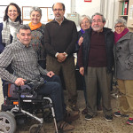 El Banc Solidari de Material Ortopèdic es consolida al local de Porta
