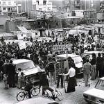 La plaça d'Àngel Pestaña, el cor del barri de la Prosperitat