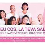 Taller sobre Prevenció del càncer de mama a l'Espai de Salut Comunitària Guineueta