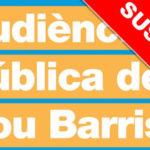 Suspesa l'Audiència Pública del districte de Nou Barris