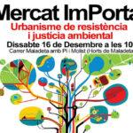 La trobada mensual del Mercat ImPorta es trasllada als horts de Maladeta per reclamar la rambla