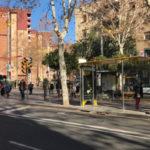TMB retorna les parades de bus properes a la Seu del Districte de Nou Barris