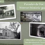 Un itinerari de 'Paraules de Foc' per la víspera de Sant Joan