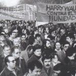La vaga de treballadors i treballadores de la fàbrica Harry Walker