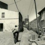 El carrer del Pintor Alsamora als anys vuitanta