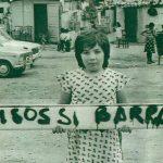 La Charo, una nena que demanava pisos en lloc de barraques