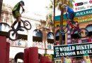 El Pati de la Seu del Districte torna a acollir l'espectacle de la Copa del Món Indoor de Biketrial