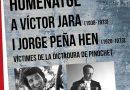 Nou Barris ret homenatge a Víctor Jara i Jorge Peña Hen, víctimes de la repressió de Pinochet