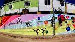 El Centre de les Arts del Circ Rogelio Rivel estrena dos grans murals