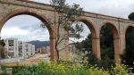 Nou enllumenat de l'aqüeducte de Ciutat Meridiana