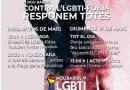 Un cap de setmana d'actes confinats contra la LGBTI-fòbia