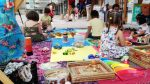 Activitats familiars a la popularment batejada Àgora de les Dones