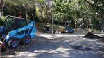 Tanca el parc del Turó de la Peira per crear-hi un jardí de Nadal