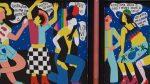 El joves reflexionen sobre la identitat i discriminació per qüestions de gènere o sexe en un mural