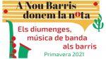 Diumenges de música de banda a Nou Barris