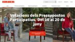 Fase final de votacions dels pressupostos Decidim.Barcelona