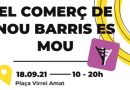 Nou Barris recupera la jornada 'El comerç es mou i surt al carrer!'
